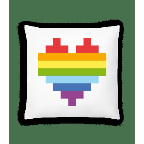 Rainbow Heart - Kissen