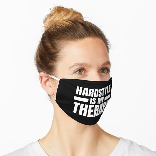 Hardstyle is my Therapy! Hardstyle Merchandise Maske