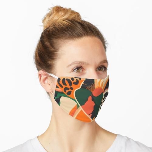 Modische Maske Modische Maske Maske