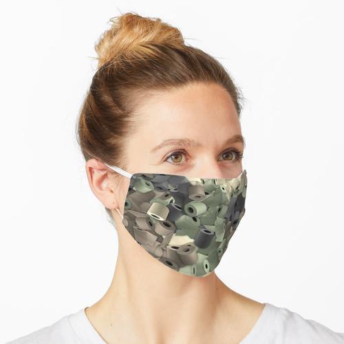 Toilettenpapier Tarn Maske