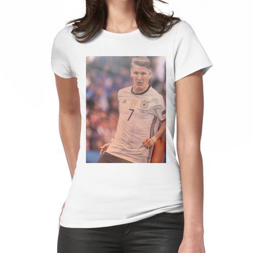 Bastian Schweinsteiger. Frauen T-Shirt