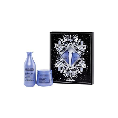 L'Oréal Professionnel Haarpflege Serie Expert Blondifier Geschenkset Blondifier Acai Polyphenols Shampoo 300 ml + Blondifier Acai Polyphenols Masque 250 ml 1 Stk.