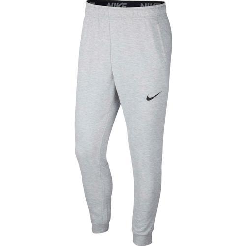 Nike Dry Taper Trainingshose Herren in dk grey heather-black, Größe XL