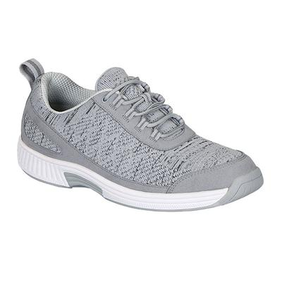 Best Support Back Pain Relief Sneakers, Arch Support, Supportive Insole, Men's Sneakers | OrthoFeet Footwear, Lava, 9 / Medium / Gray