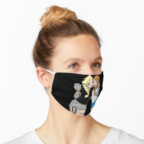 Schwestern Punk Maske