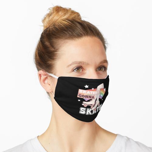 Rollschuh-Party, Skater, die gehen Skate, Rollschuh-Shirt, Rollschuh-Derby-Geschenk Maske