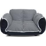 K1 Pet Design Stark Sofa Dog Bed, Houndstooth