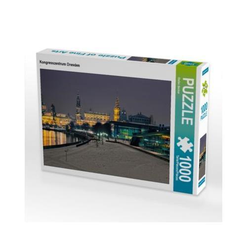 Kongresszentrum Dresden Foto-Puzzle Bild von Stefan Becker Puzzle