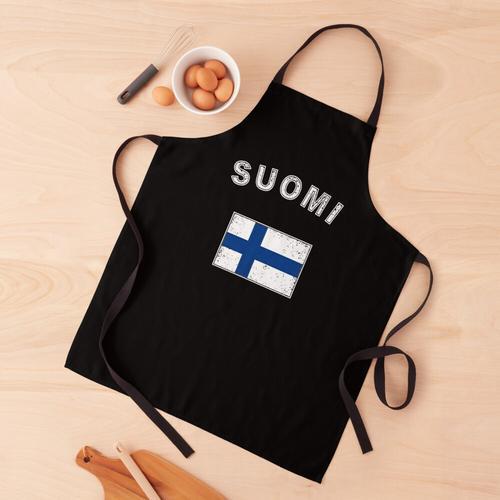 Finnland finnisch Flagge Fahne Schürze