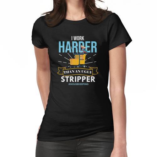Professioneller Reiniger Frauen T-Shirt