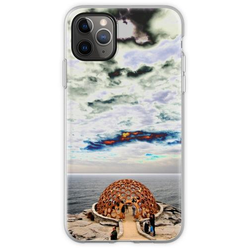 Hauben-Skulptur @ Skulpturen durch das Meer 2012 Flexible Hülle für iPhone 11 Pro Max