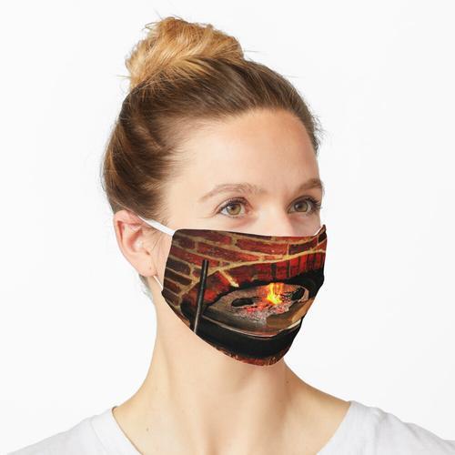 Holzofen Maske