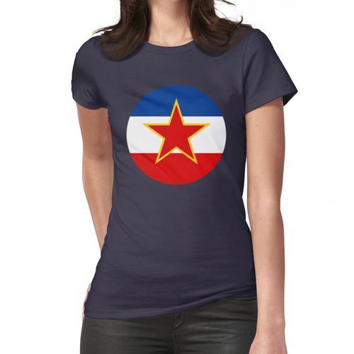 Ex Jugoslawien - Jugoslawien Flagge - SFRJ Frauen T-Shirt