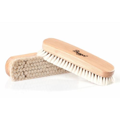 Burgol Reinigungsbürste Ziegenhaarbürste, Für die finale Hochglanzpolitur beige Reinigungszubehör Reinigungsgeräte Küche Ordnung