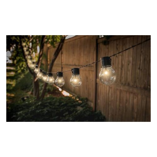 Lichterkette mit 10 Solarlampen: 1