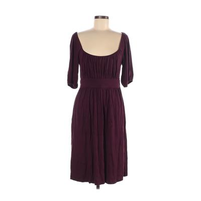 Juicy Couture Casual Dress - A-Line: Purple Solid Dresses - Used - Size Medium