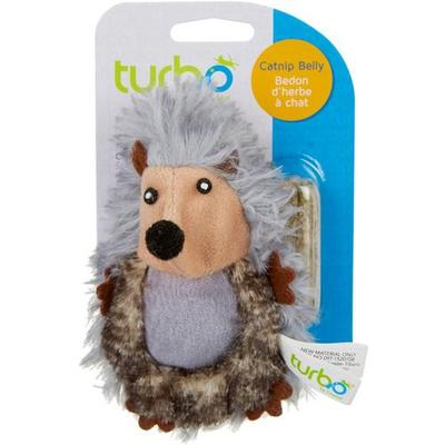 Turbo Hedgehog Cat Toy & Catnip Belly
