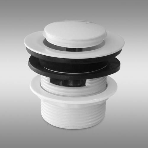 PREMIUM 200 Click-Clack Ablaufventil für Badewanne weiß PR1237