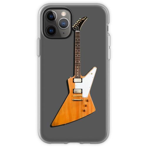 Die Explorer Classic E-Gitarre Flexible Hülle für iPhone 11 Pro