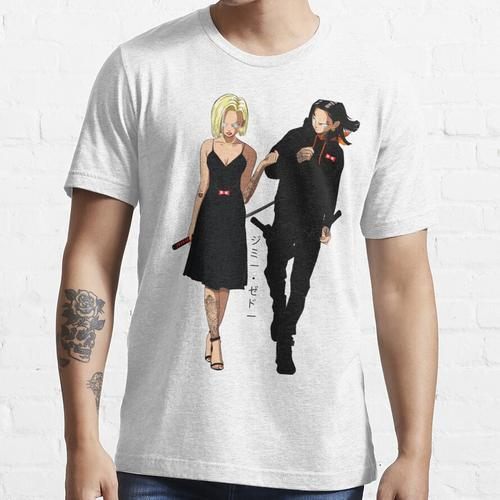 Android 17 und Android 18 Essential T-Shirt