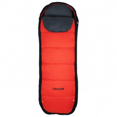 Lafuma - Nunavut Kid - Kinderschlafsack Gr One Size Rot/Schwarz