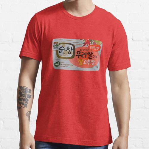 Gochujang Korean Fermented Paste Design Essential T-Shirt