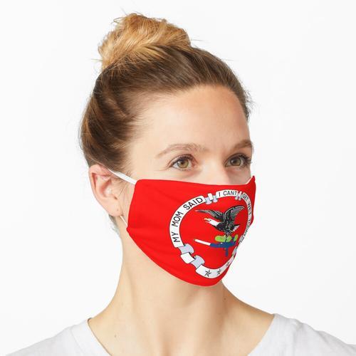 NRA Parody Logo mit Spritzpistole Maske