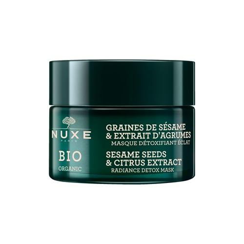 Nuxe Gesichtspflege Nuxe Bio Sesame Seeds & Citrus Extract Radiance Detox Mask 50 ml