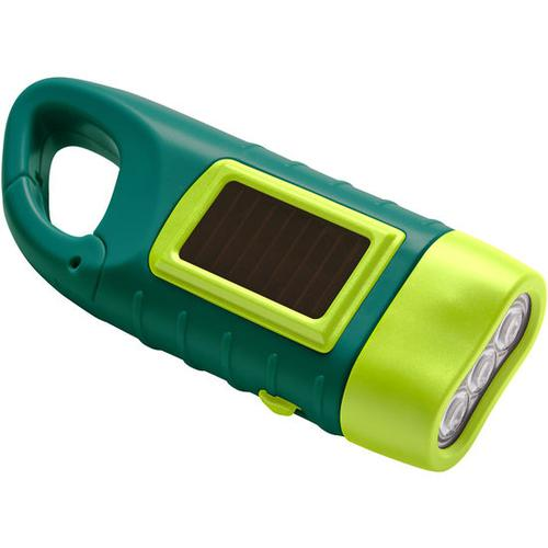 JAKO-O Dynamo-Solartaschenlampe, grün