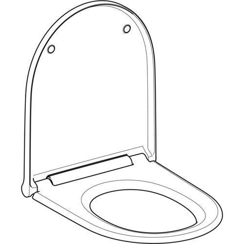 Geberit Geberit ONE WC-Sitz weiß-alpin, 243989111 243989111