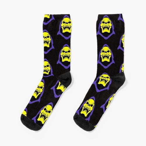 Skelett Retro Socken