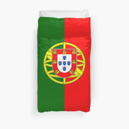 Portugal. Portuguese. Portuguese Flag. Flag of Portugal. FULL COVER. Duvet Cover