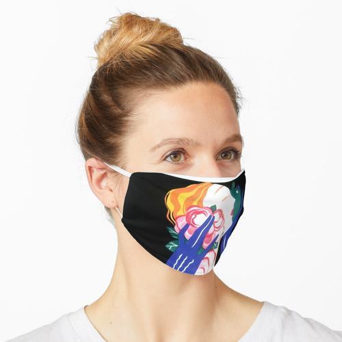 Weinlese-Kunst-Deko-Parfüm-Plakat Maske