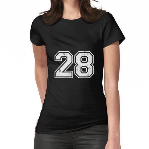 28 TRIKOT Trikots Nummer 28 Trikot Sport Frauen T-Shirt