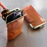 Double Glasses Case Brown by Coo...
