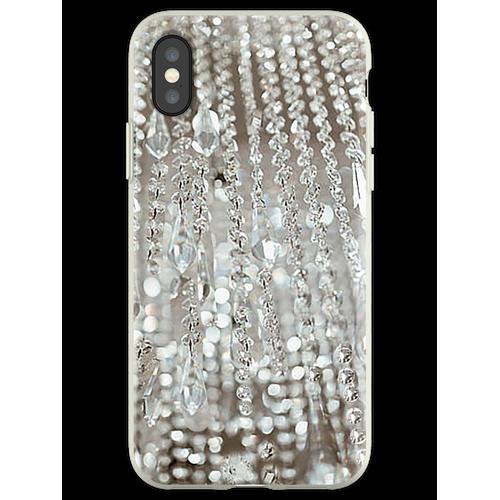 Kronleuchter aus Kristallen und Licht Flexible Hülle für iPhone XS