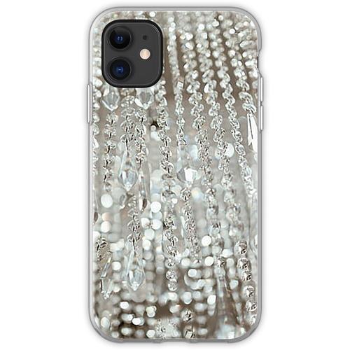Kronleuchter aus Kristallen und Licht Flexible Hülle für iPhone 11