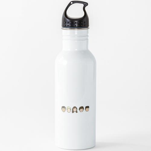 Eine Richtung Wasserflasche