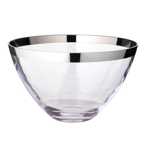 EDZARD Schale Holly, Kristallglas mit Platinrand farblos Schalen Geschirr, Porzellan Tischaccessoires Haushaltswaren
