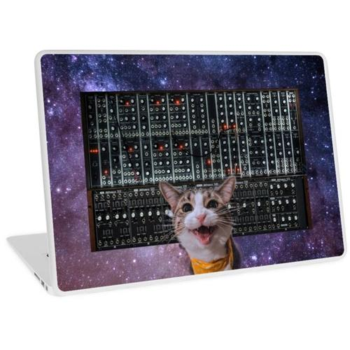 Cat Modular Laptop Skin
