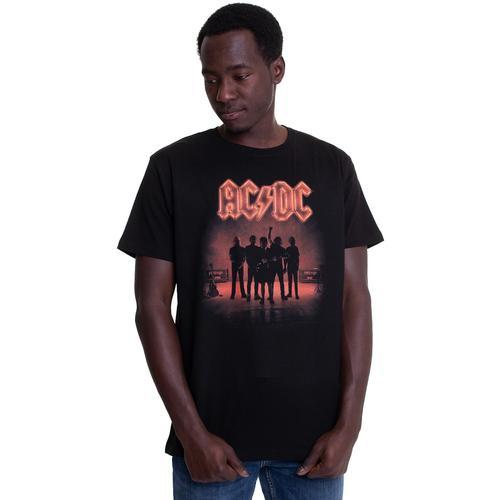 AC/DC - B&W Band Photo Montage - - T-Shirts