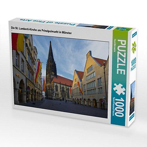 Die St. Lamberti-Kirche am Prinzipalmarkt in Münster Foto-Puzzle Bild von Paul Michalzik Puzzle