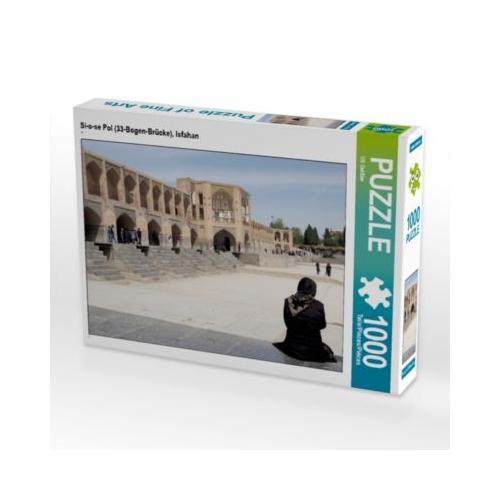 Si-o-se Pol (33-Bogen-Brücke), Isfahan Foto-Puzzle Bild von Pater Noster Puzzle