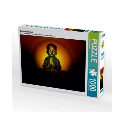 Buddha im Gebet Foto-Puzzle Bild von Digital-Art Puzzle