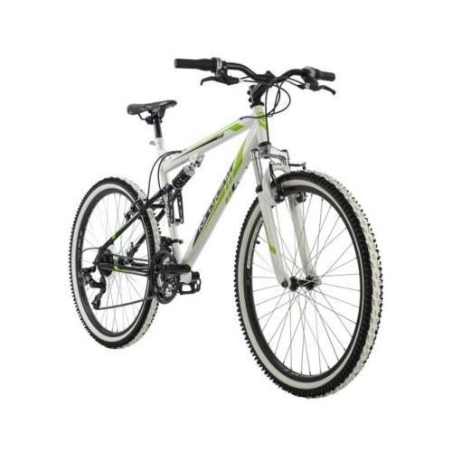 Mountainbike Fully 26 Zoll Scrawler Mountainbikes, Rahmenhöhe: weiß