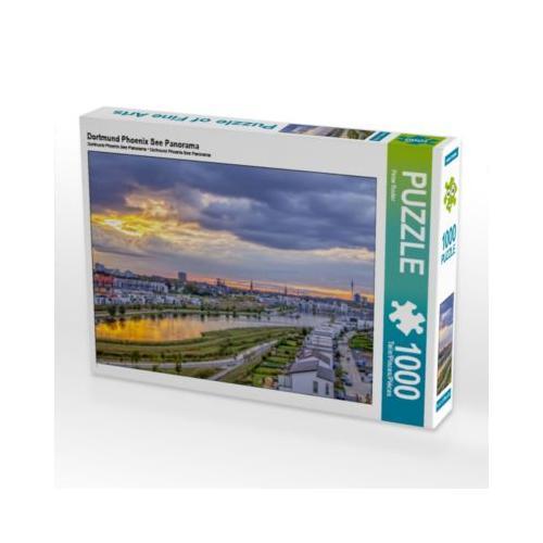 Dortmund Phoenix See Panorama Foto-Puzzle Bild von Peter Roder Puzzle