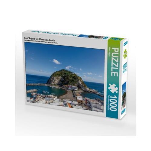 Sant'Angelo im Süden von Ischia Foto-Puzzle Bild von Mario Hagen Puzzle