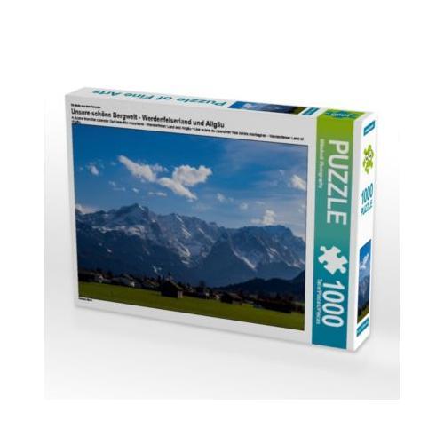 Unsere schöne Bergwelt - Werdenfelserland und Allgäu Foto-Puzzle Bild von WilmAndi Photography Puzzle