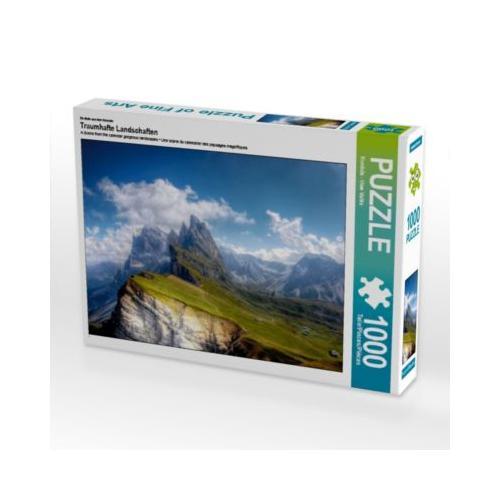 Traumhafte Landschaften Foto-Puzzle Bild von uwe vahle Puzzle