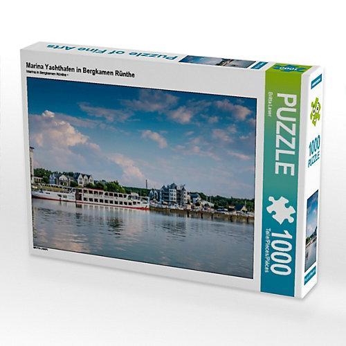Marina Yachthafen in Bergkamen Rünthe Foto-Puzzle Bild von Britta Laser Puzzle